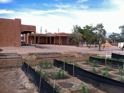 Indian Pueblo farm